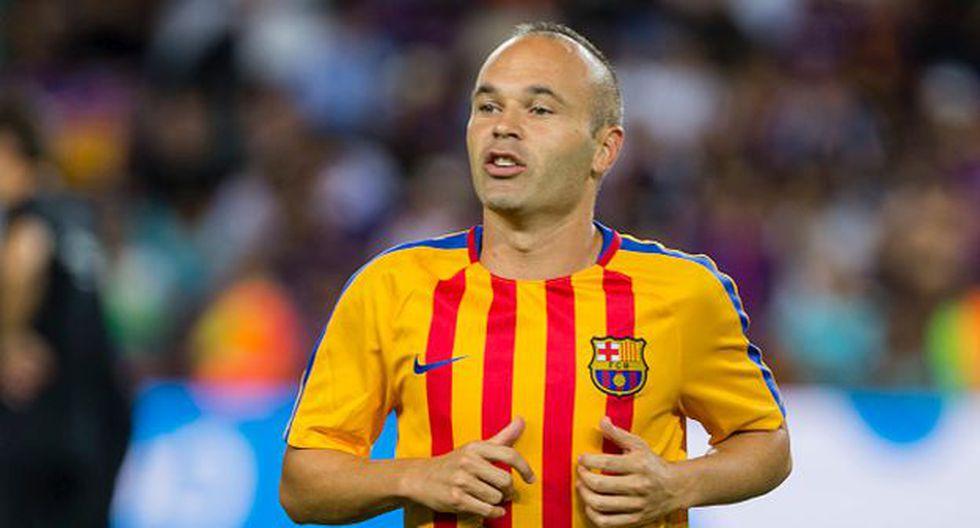 Andrés Iniesta jugado toda su carrera profesional en FC Barcelona. (Getty Images)