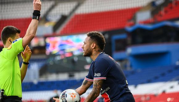 Mauricio Pochettino se pronunció por la expulsión de Neymar. (Foto: AFP)