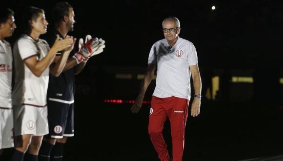 Antes de llegar a Universitario de Deportes, Gregorio Pérez fue DT de Independiente de Santa fe. (Foto: Agencias)