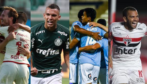 Universitario y Sporting Cristal jugarán contra Palmeiras y Sao Paulo, respectivamente. (Foto: Liga 1 / Agencias)