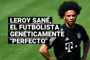 """Conoce la historia de Leroy Sané, el futbolista genéticamente """"perfecto"""""""