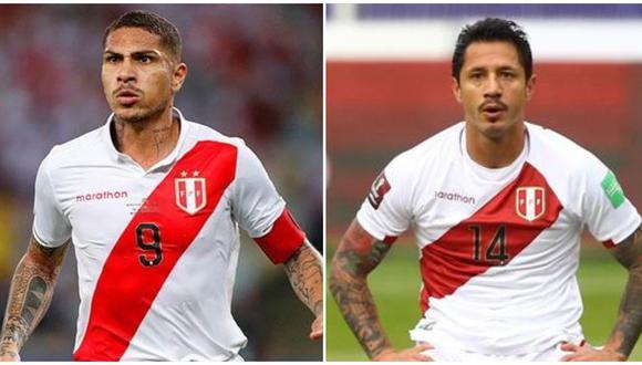 Guerrero y Lapadula podrían alienar juntos en el Perú vs. Venezuela. (Foto: Agencias)
