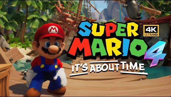 Mario Bros. se mete a Crash Bandicoot 4 gracias a mod de la comunidad. (Foto: DanteLive4game)