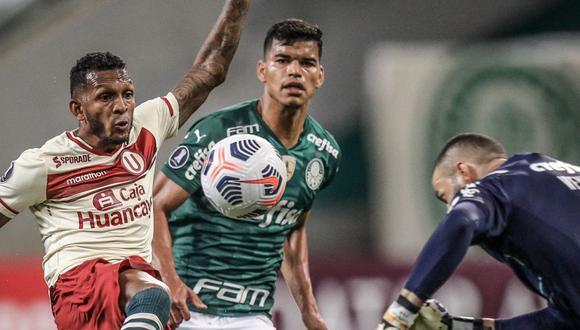 Universitario perdió 6-0 contra Palmeiras (Foto:agencias)