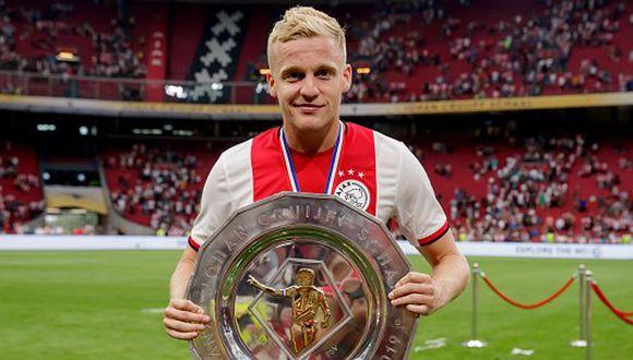 Van de Beek tiene contrato con el Ajax hasta el 2022. (Foto: Getty)