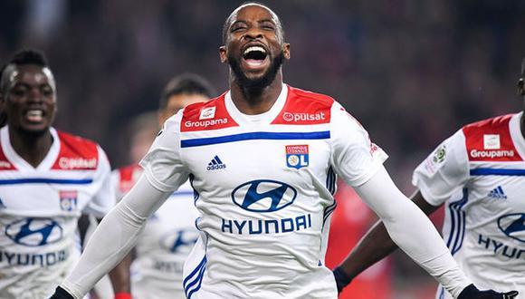 Moussa Dembélé llega cedido al Atlético de Madrid hasta final de temporada. (Foto: AFP)