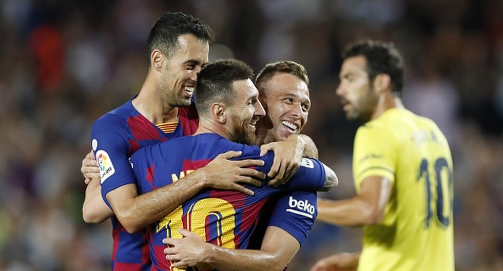 Barcelona vs. Villarreal en Camp Nou por LaLiga Santander. (Foto: Getty Images)