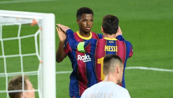Barcelona vs. Ferencvaros (5-1): resultado, goles, resumen y video por Champions  League   DEPOR