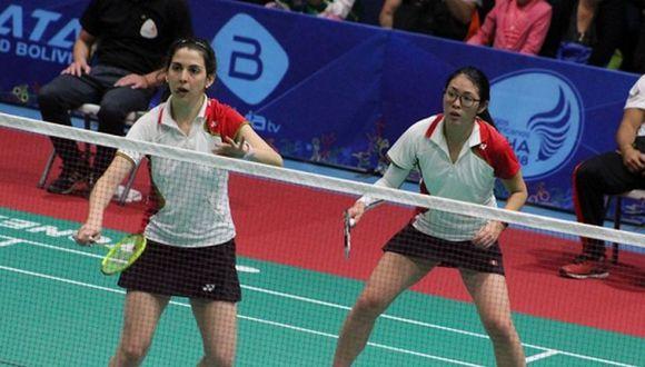 Daniela y Danica juegan juntas en dobles de mujeres. (IPD)