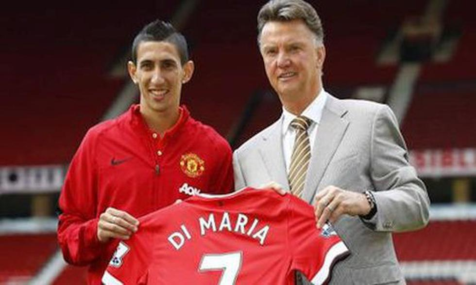 2. Ángel Di María to Manchester United (2014/2015) for 75 million euros.  (Photo: Getty)