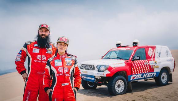 Fernanda Kanno y Alonso Carrillo compiten en la categoría coches. (Foto: Difusión)