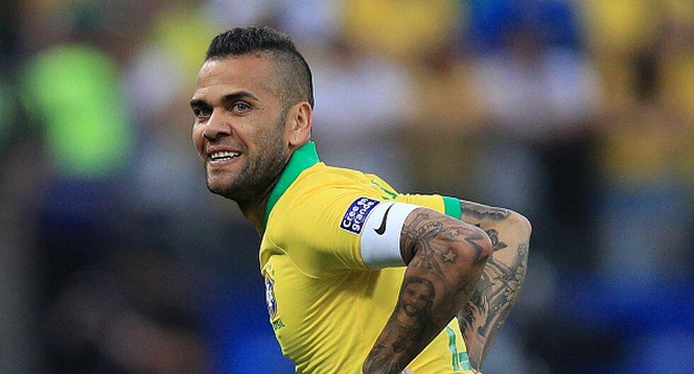 Dani Alves sigue con ofertas en medio de la Copa América. (Foto: Getty)