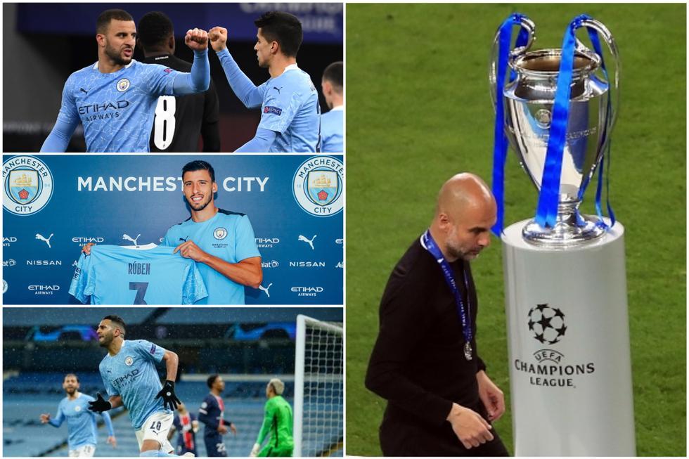 Los millonarios fichajes que no le ayudaron a ganar la Champions League al Manchester City.