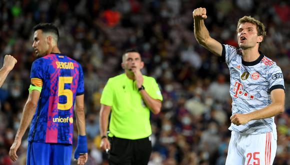 Barcelona fue goleado 3-0 por el Bayern Múnich en su debut de la Champions League. (Foto: AFP).