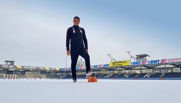 Matías Succar cumple uno de sus primeros sueños en el fútbol (Foto: @LASK)
