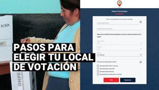 Elecciones 2021: ¿Cómo elegir tu local de votación en la plataforma de la ONPE?