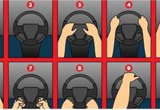 ¿Cómo agarras el volante? Tu forma de coger el timón del auto te revelará quién eres