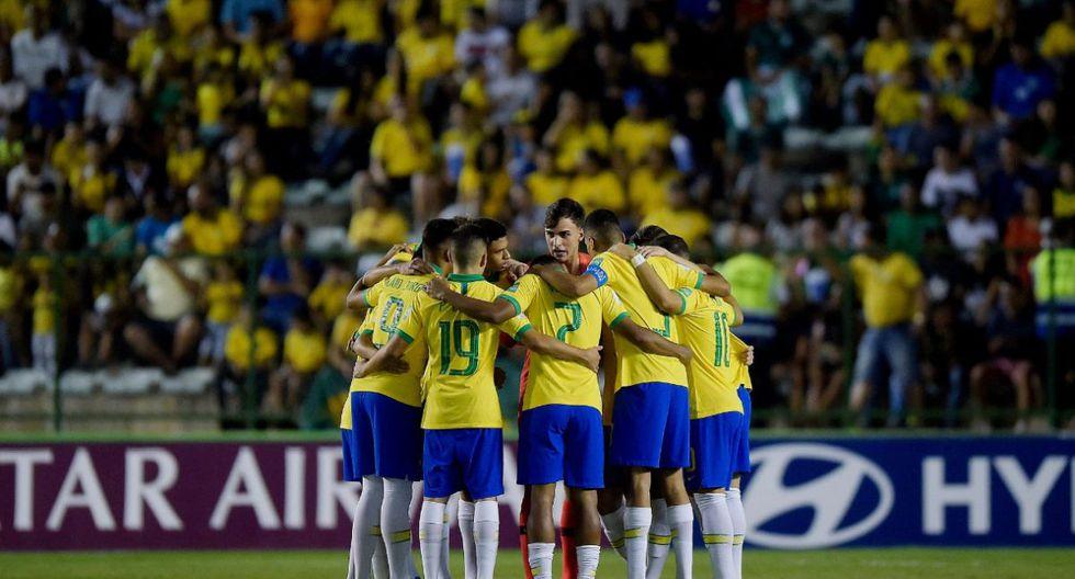 Brasil conquistó su cuarto título mundial en la categoría Sub 17 ante su similar de México. (Foto: Twitter)