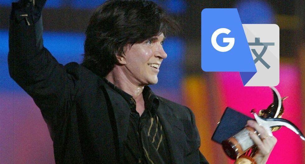 Esto es lo que ocurre si colocas en Google Translate la palabra Camilo Sesto. Fanáticos han quedado impactados. (Foto: Google)