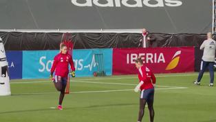 Fútbol femenino: selección española se prepara para afrontar a subcampeonas del mundo