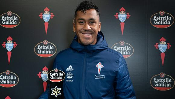 Renato Tapia es el mejor jugador del mes de abril para los fanáticos de Celta de Vigo. (Foto: Celta de Vigo)
