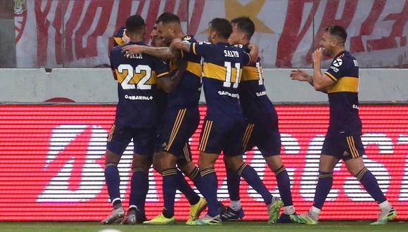 Boca Juniors venció por 1-0 a Inter de Porto Alegre en Brasil. (Foto: EFE)