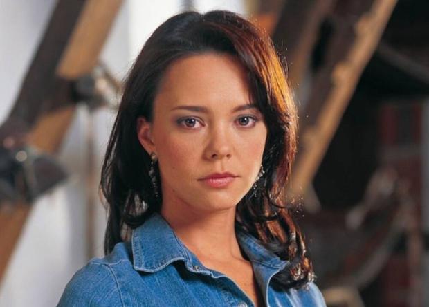 "Natasha Klauss was 28 years old when she played Sara Elizondo in ""Pasión de gavilanes"", a character that made her known internationally.  (Photo: Telemundo)"