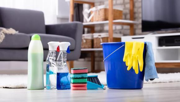 ¿Cuál es la diferencia entre limpiar, sanitizar y desinfectar?  (Foto: Getty)
