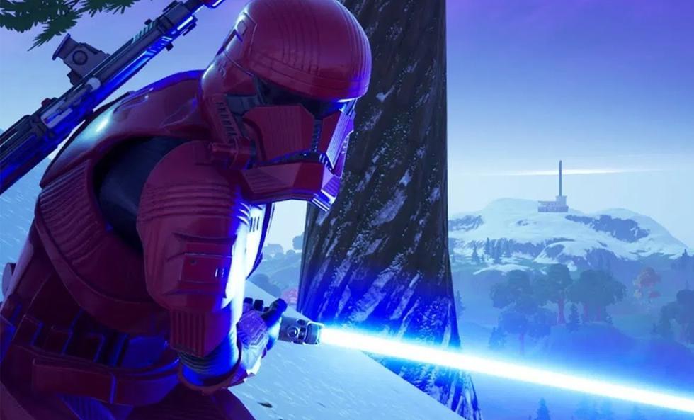 Fortnite: todos los regalos de Star Wars y navidad en el Battle Royale. (Foto: captura)