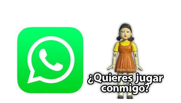"""Ya puedes descargar los stickers de WhatsApp de la serie del momento: """"El juego del calamar"""" o """"Squid game"""". (Foto: Depor)"""