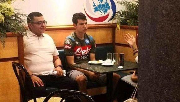 Hirving Lozano ya luce la ropa de entrenamiento del Napoli. (Foto: Europa Calcio)