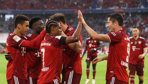 AWS y Bundesliga medirán dos datos nuevos en los partidos de la temporada de fútbol europea 2021-22. (Getty)