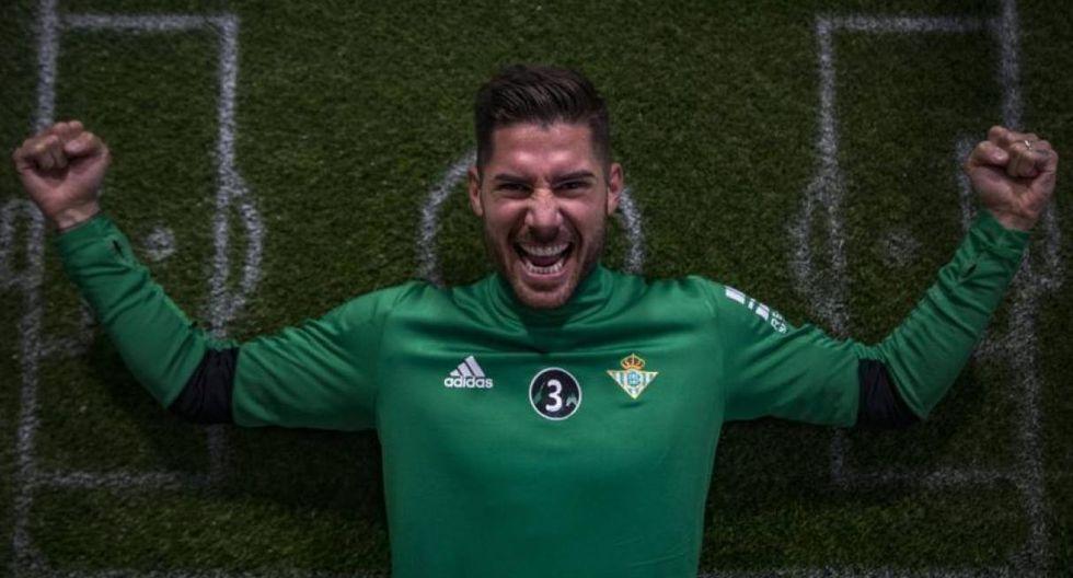 Javi García | Club actual: Real Betis (Fotos: Difusión)