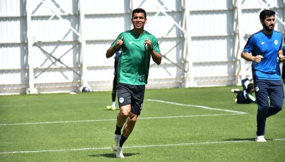 Paolo Hurtado se marchará de Konyaspor. (Foto: Konyaspor)