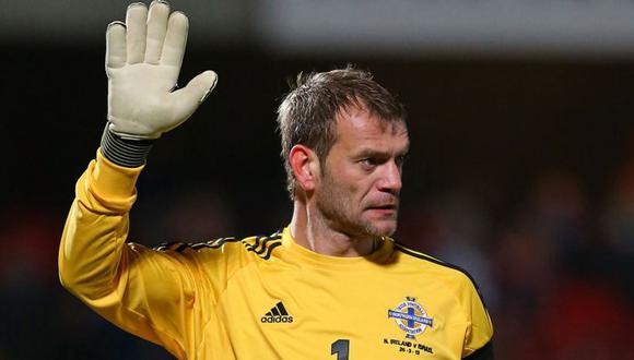 Roy Carroll tiene 43 años y juega en un club solidario llamado FC Mindwell. (Foto: EFE)