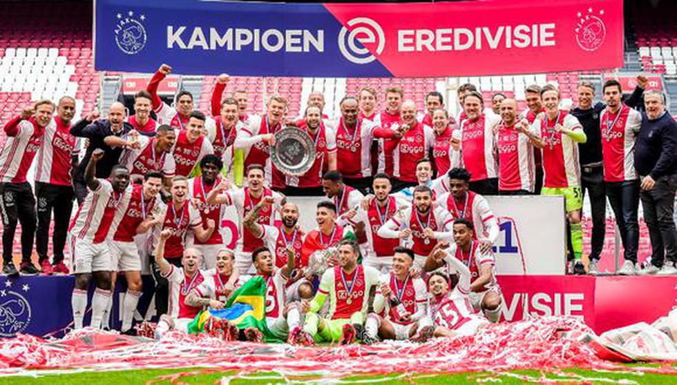 Con Ajax a la cabeza, clubes más valiosos fuera de las grandes ligas de Europa.