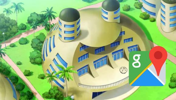 """Usuarios encuentran la """"Capsule Corp"""" de Bulma en Google Maps y se encuentran realmente asombrados. (Foto: Google)"""