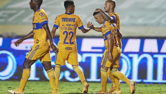 Nicolas López fue la gran figura del partido y ya suma tres goles en el Guard1anes 2020.
