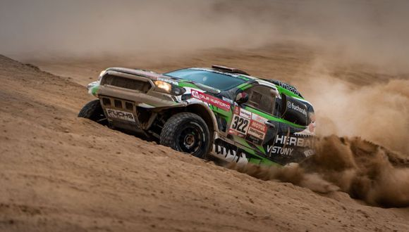 Nicolás Fuchs corre su tercer Rally Dakar. (ITEA Photo)