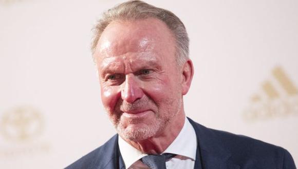 Karl-Heinz Rummenigge fue anunciado hace unos días como representante del Comité Ejecutivo de la UEFA. (Foto: AFP)