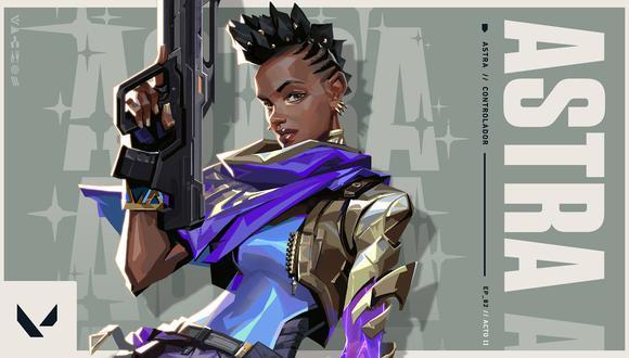 VALORANT: primer gameplay de Astra, el nuevo agente del shooter de Riot Games. (Foto: Riot Games)