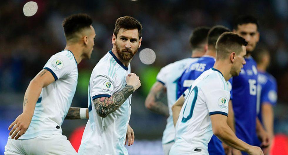 Argentina y los rivales que tiene para la Copa América 2020. (Foto: Getty Images)