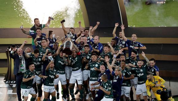 Palmeiras es el vigente campeón de la Copa Libertadores. (Foto: EFE)