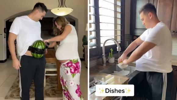 El video de la pareja tiene millones de reproducciones en TikTok. (Foto: @jazlynebaybee | TikTok)