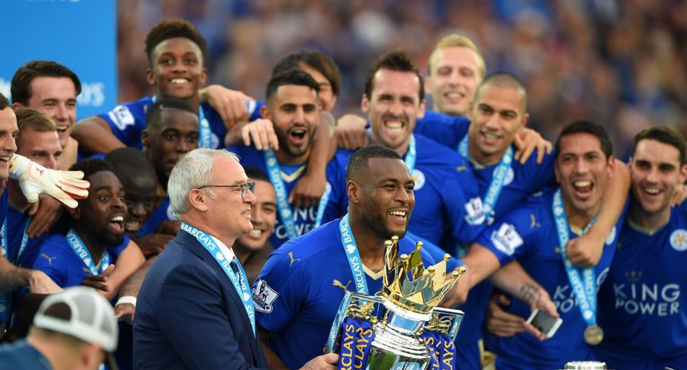Leicester City - 2015 (Getty)