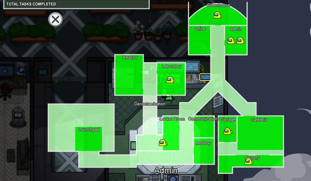 See all the activities you can do on the Mira HQ map.  (Photo: Among Us)