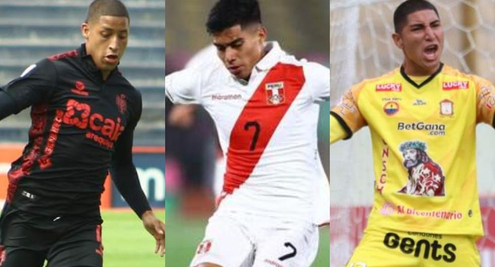 Jugadores de la Liga 1 que buscan consolidarse en 2021. (foto: GEC / Liga 1)