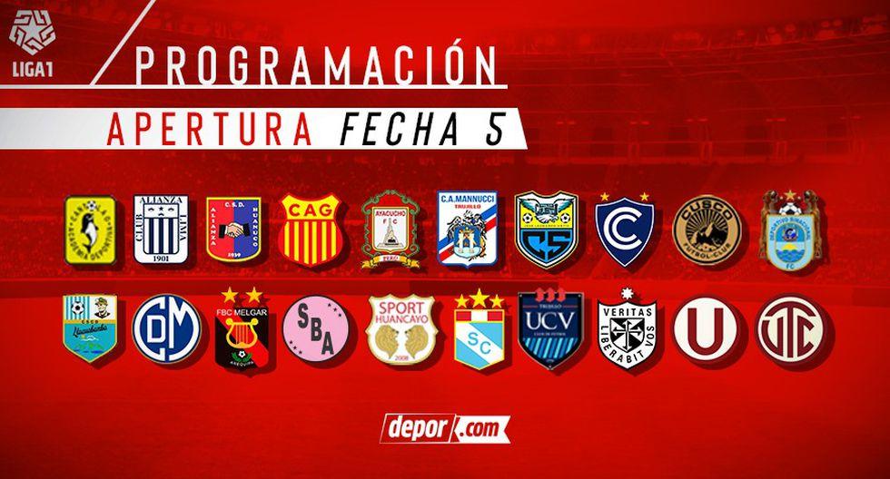 Conoce la programación de la fecha 5 del Torneo Apertura. (Foto: GEC)
