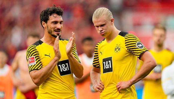 Erling Haaland llegó al Borussia Dortmund a inicios de 2020 desde el RB Salzburgo. (Foto: Getty)