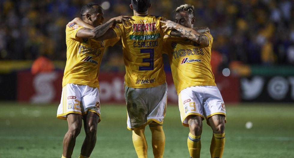 Tigres volvió a 'rugir' ante Houston Dynamo y clasificó a las semifinales de la Concachampions